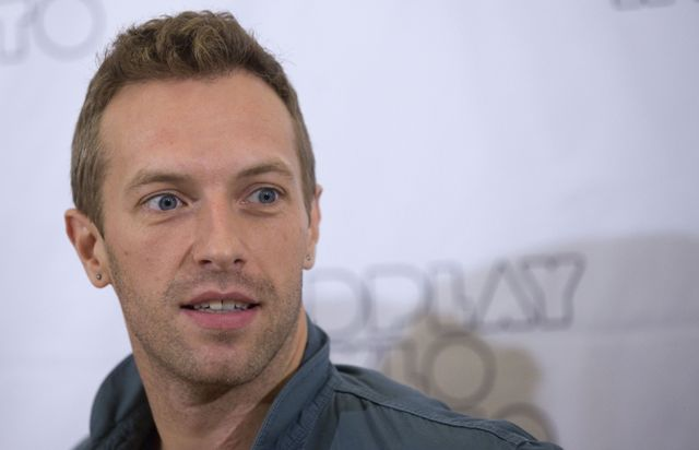 chris martin stunned reuters