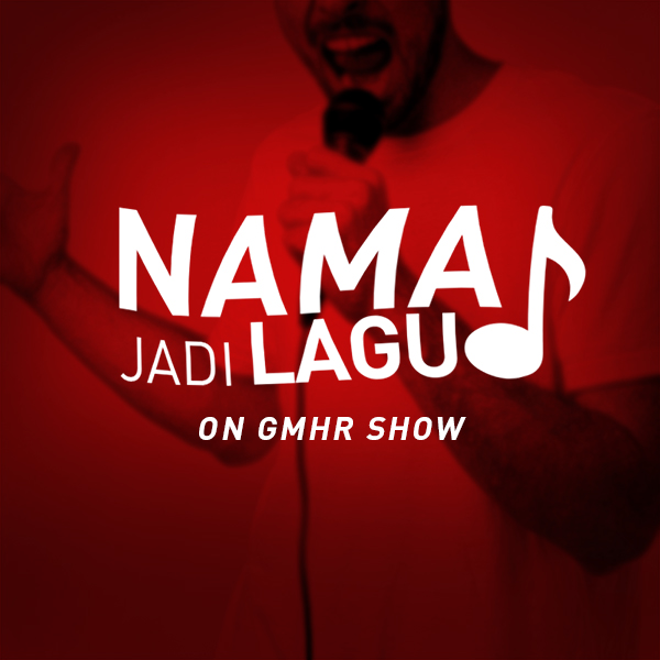 Program di radio Hard Rock FM_Nama Jadi Lagu