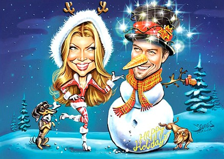 fergie josh card christmas