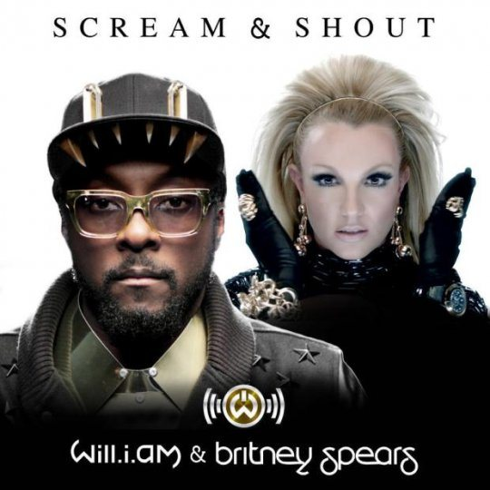 britney spears will i am scream and shout