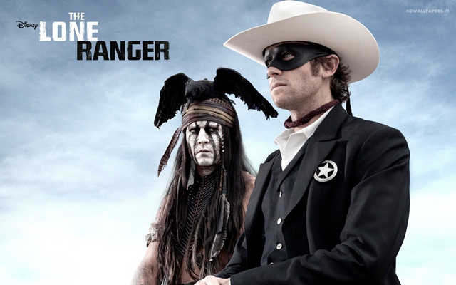 the lone ranger movie-wide
