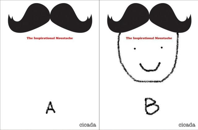cover inspirational moustache