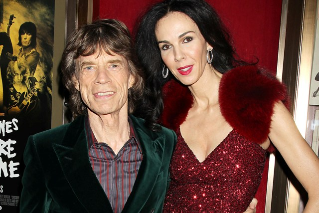 mick jagger and l wren scott