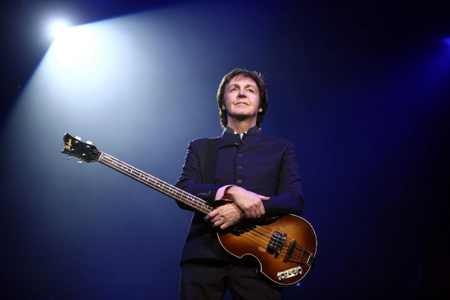 Paul McCartney black and white 2010