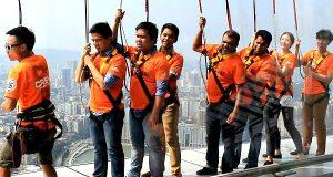 Skywalk X di Macau Tower