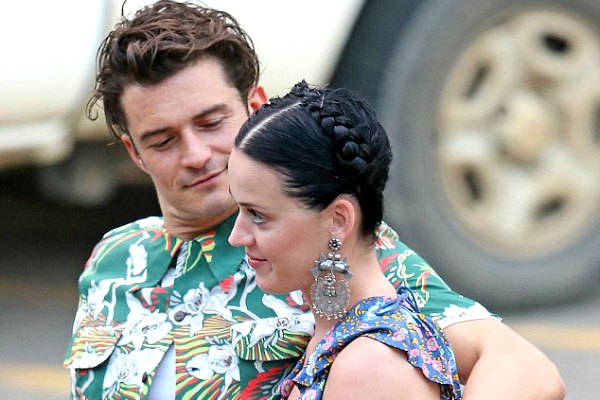 Katy Perry dan Orlando Bloom