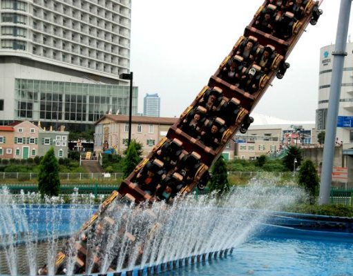 Ini dia under water roller coaster | whenonearth.net