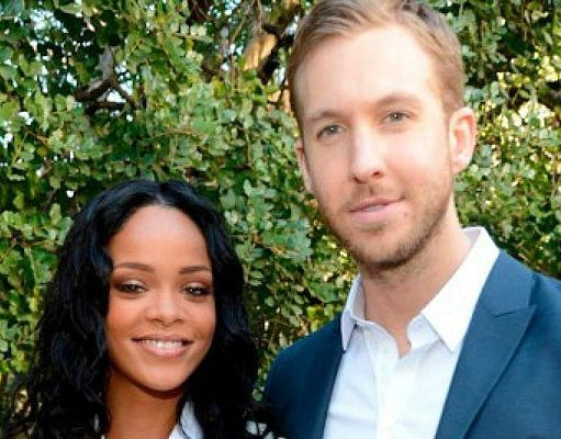 "Calvin Harris kembali menggandeng Rihanna untuk single terbarunya, ""This Is What You Come For"" 
