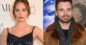 Lily James dan Sebastian Stan Pam & Tommy