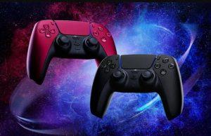 Sony Rilis Controller PS5 Midnight Black & Cosmic Red