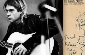 Gambar Karikatur Milik Kurt Cobain Terjual Hingga Rp 4 Miliar