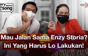 Di Balik Wajah Riang Enzy Storia Menyimpan Perasaan Mellow Melalui Lagu Setengah Hati